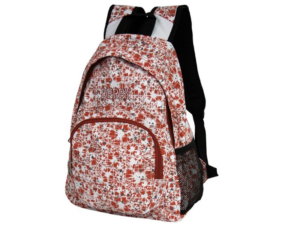 Молодежный рюкзак Derby 0180133 с цветочным узором
