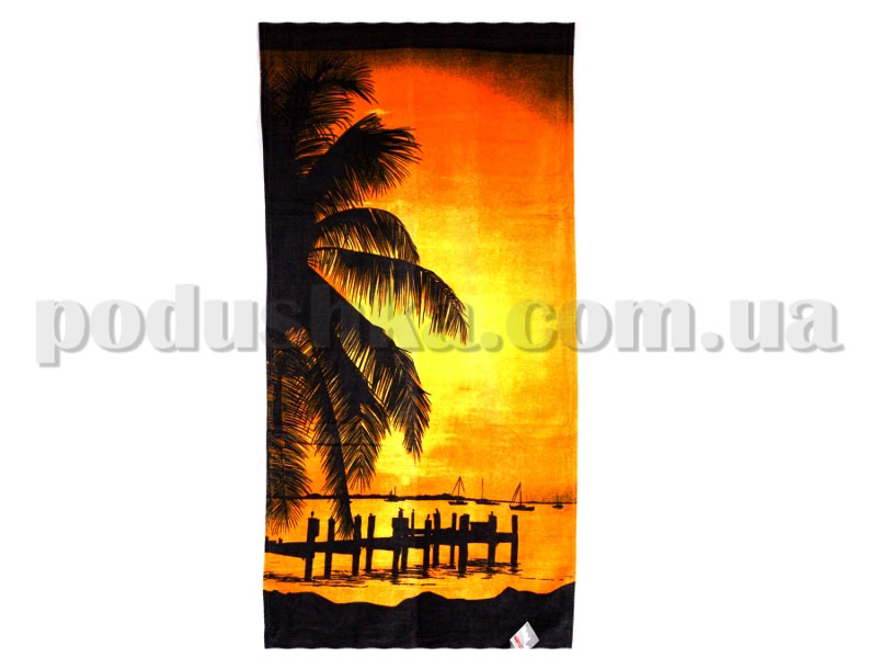 Полотенце пляжное Home line Санрайс