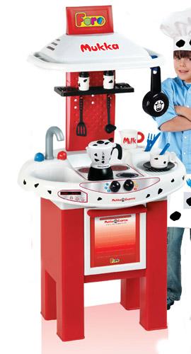 Игровой набор - Кухня - Биалетти Мукка Экспресс (электр., 12 аксессуаров, 100 см)