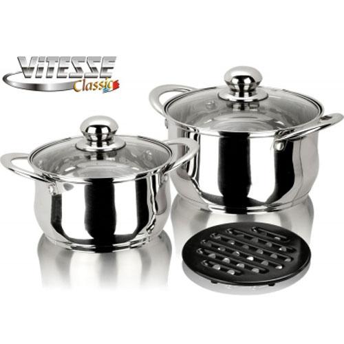Набор посуды Vitesse VS-7001 5 предметов