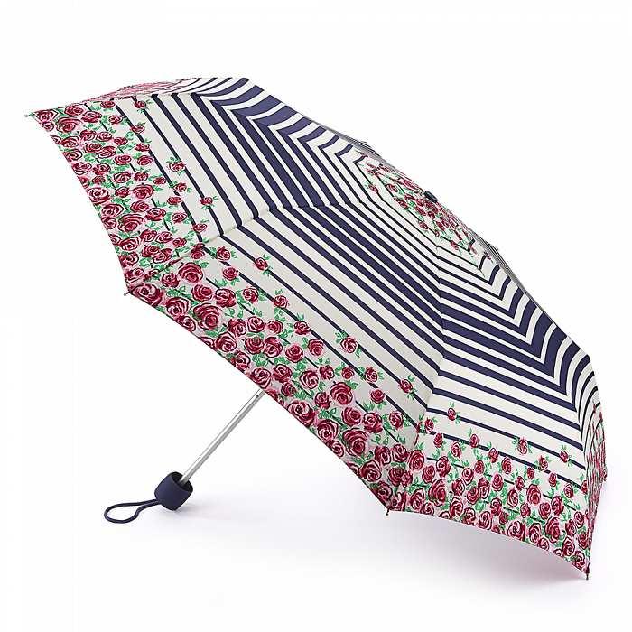 Женский зонт Fulton Minilite-2 L354 Nautical Rose морская роза