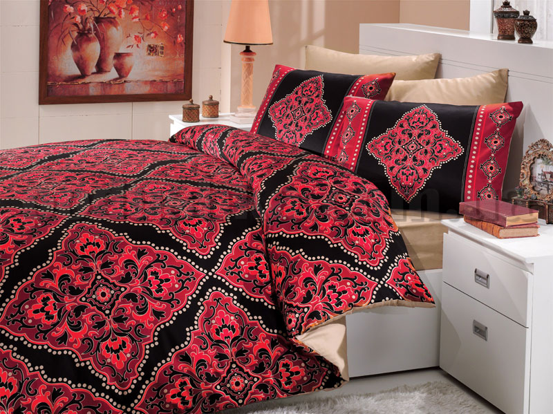 Постельное белье Hobby Nirvana красный