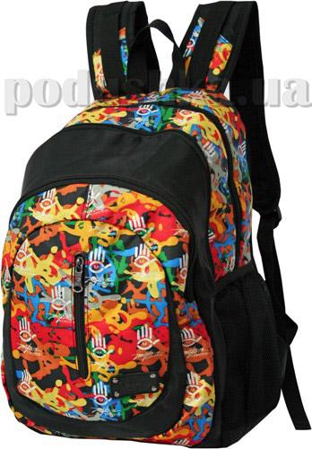 Рюкзак Derby 0170034 с разноцветным принтом