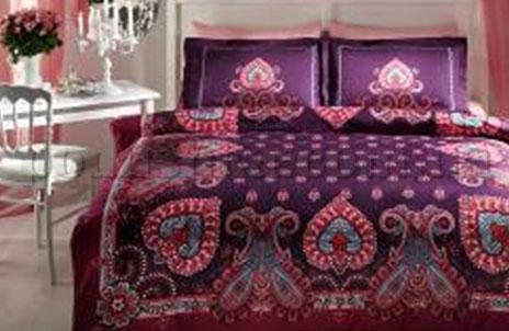 Постельное белье TAC Farrah фиолетовый