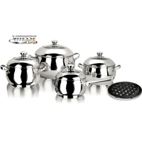 Набор посуды Vitesse VS-7003 9 предметов