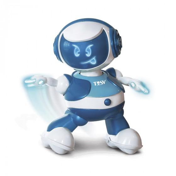 Интерактивный робот Tosy DiscoRobo Лукас танцует укр озвучка синий TDV102-U 8930006492818