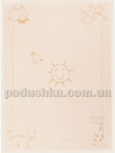 Плед детский Sunny day Bio cotton kids Bocasa