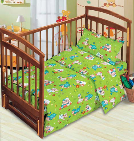 Постельное белье в кроватку Веселые овечки