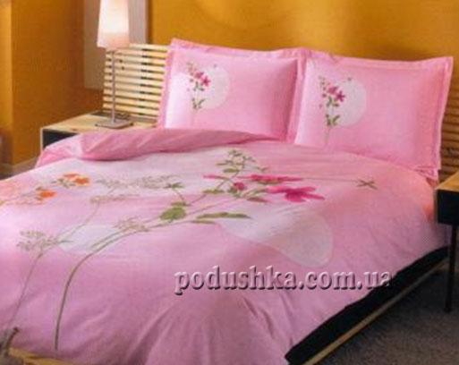Постельное белье Lidia розовый TAC