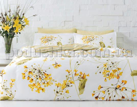 Постельное белье TAC Blossom желтый
