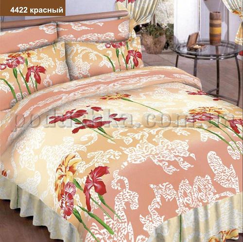 Постельное белье Вилюта Классик 4422 красный ранфорс