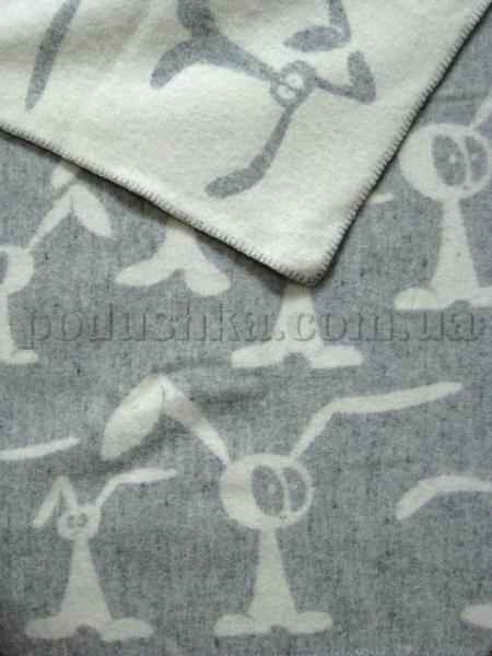 Одеяло детское Klippan Saule шерстяное