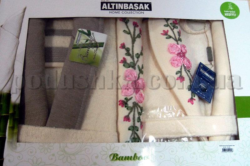 Набор Altinbasak халаты и полотенца 4