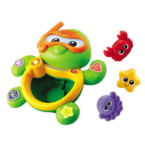 Игрушка развивающая для игры в ванной - Черепаха (музыкальная)