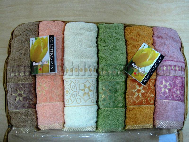 Набор махровых полотенец Hanibaba Osmali motivi
