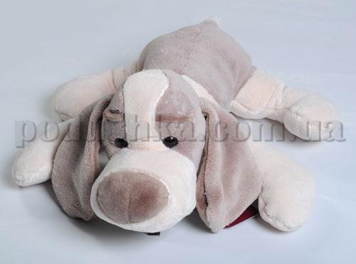 Мягкая игрушка - Собака Макс коричневая, 30 см