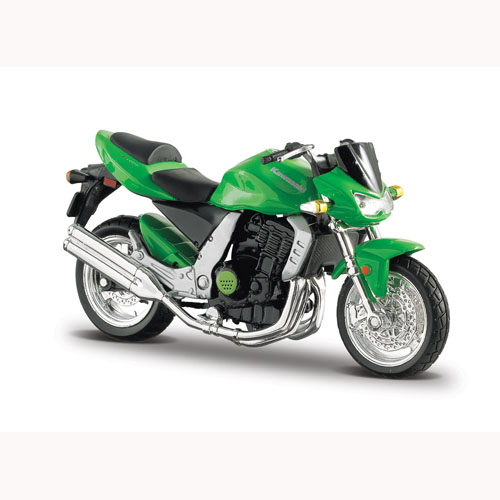 Мото-конструктор - Kawasaki Z-1000 (зеленый,1:18)