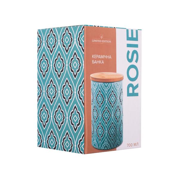 Акция на Банка для продуктов 700 мл Rosie Limited Edition JH6196-3 от Podushka - 2