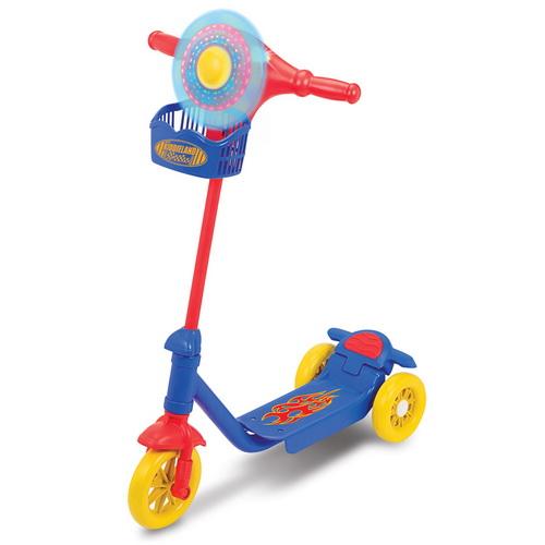 Скутер с подсветкой - Забавные огоньки (для мальчиков)