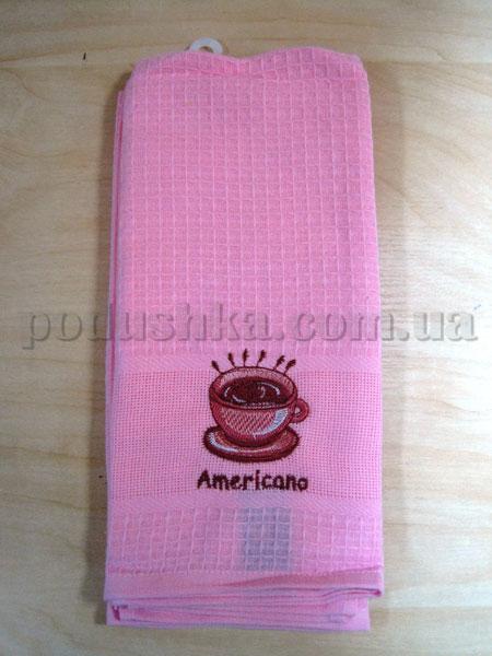 Набор вафельных кухонных полотенец Mariposa 012 Американо