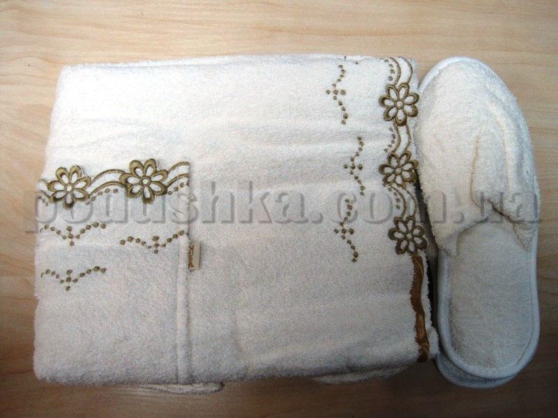 Набор для сауны женский Nusa NS-270 кремовый