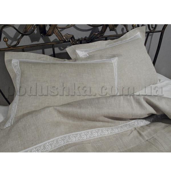 Постельное белье из льна Неаполь серый