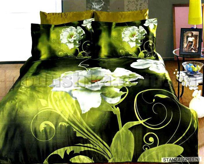 Постельное белье ARYA Stanza green