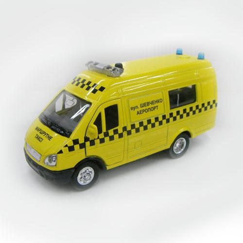 Автомодель - Газель Маршрутное Такси (свет, звук)
