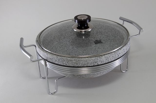 Круглый мармит (нерж. сталь)  5773-S