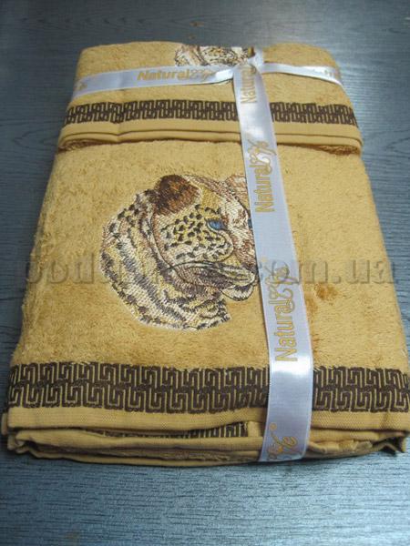 Набор махровых полотенец Mariposa Тигр темный