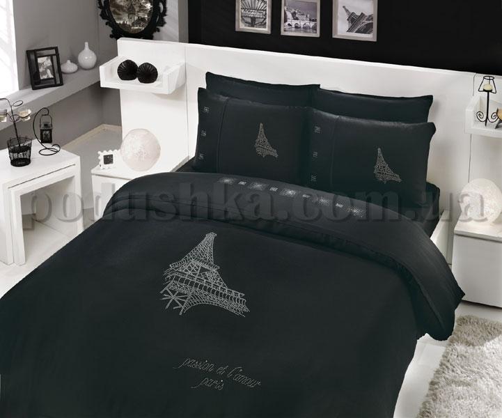 Постельное белье Hobby Crystal Paris черный