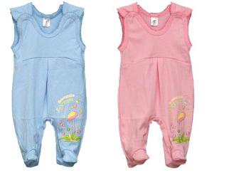 Ползунки детские Фламинго 428 интерлок