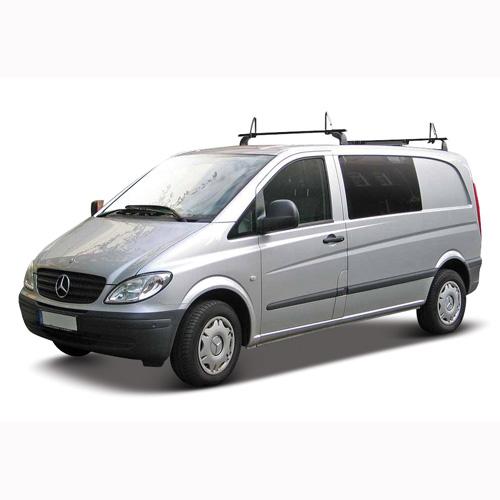 Автомодель -Mercedes-Benz VITO (ассорти белый, серебристый, 1:32)
