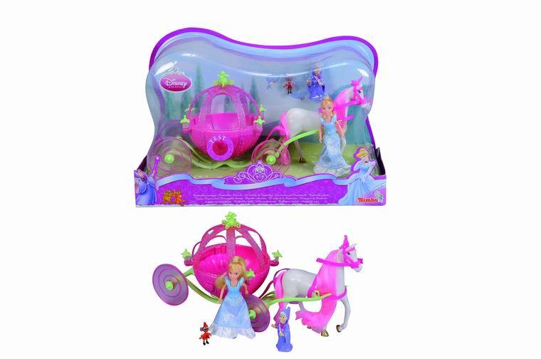 Мини Золушка и карета с конем Princess