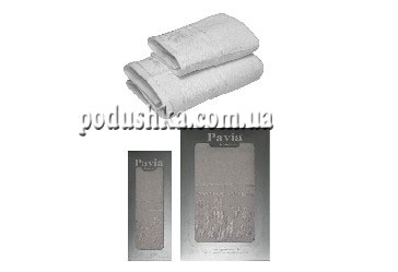 Набор полотенец WHITE ROSES (2шт), PAVIA
