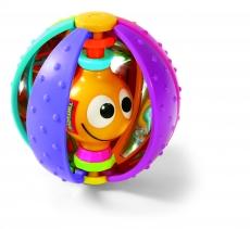 Развивающая погремушка Радужный мяч
