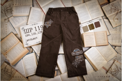Детские штанишки (вельвет) ШР119