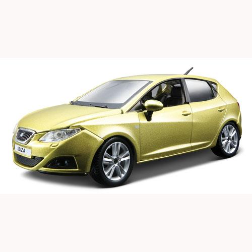 Автомодель - Seat Ibiza 4-DR (зеленый металлик, 1:24)