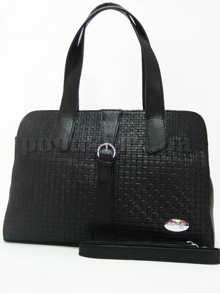 Сумка из натуральной кожи Artis Bags 704 черная
