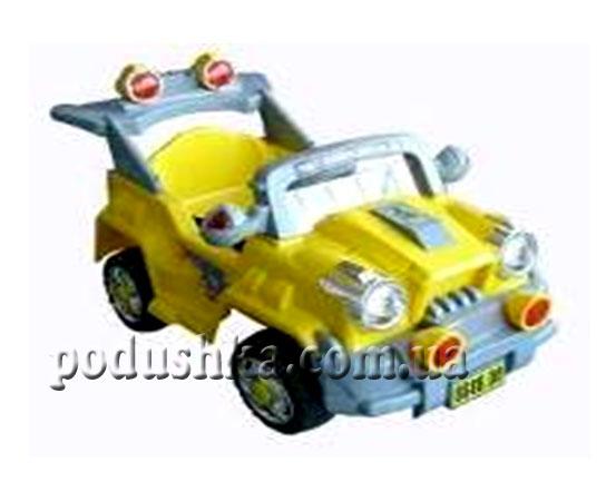 Электромобиль Xiamen, цвет желтый, В10В-XM