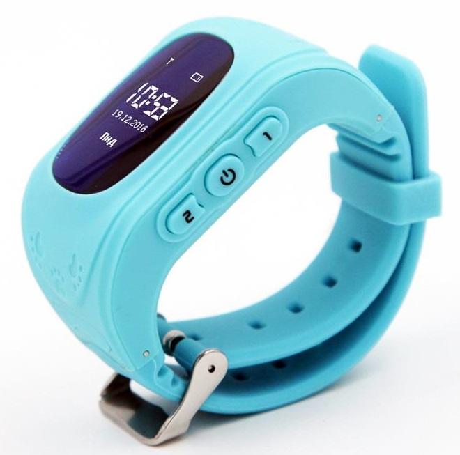 Детские телефон-часы с GPS трекером GoGPS me K50 Бирюзовые K50TR