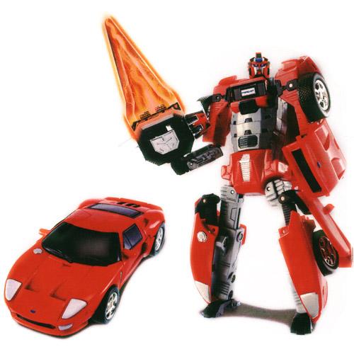 Робот-трансформер - Ford GT (1:32)