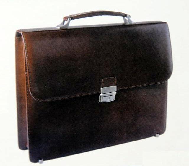 Портфель кожаный мужской 2001