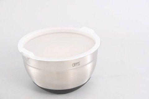 Контейнер для еды ORIS  с пластиковой крышкой 1,5 л  6145