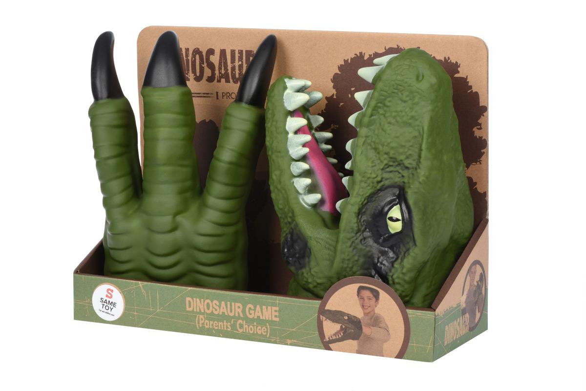 Игровой набор Same Toy Dino Animal Gloves Toys салатовый AK68623Ut-2