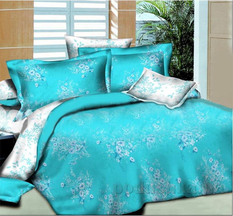 Комплект постельного белья Winter bouquet L-1585-2 SoundSleep поплин
