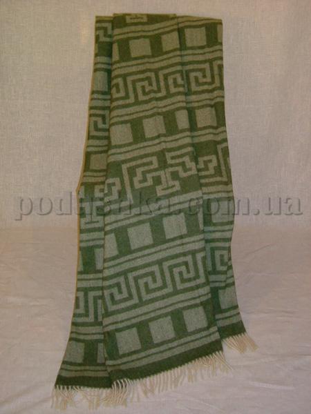 Плед шерстяной (меринос) 6608 Египет хакки