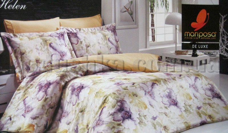 Постельное белье Helen Mariposa шелк-бамбук сатин