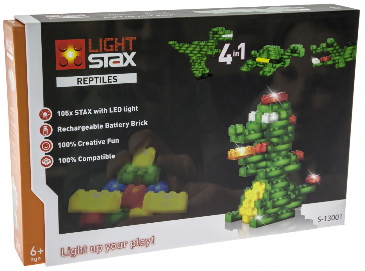Конструктор Light Stax с led подсветкой Reptiles LS-S13001