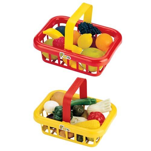 Игровой набор - Корзина Овощей/Фруктов (13 аксессуаров)